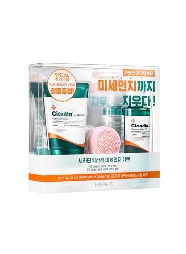 Missha Hassas Ciltler Için Yağlanma Karşıtı Temizleme Seti (150Ml*2) Cicadin Ph Blemish Special Set Renksiz